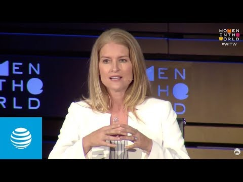 Supporting Women in the Workplace: Women in the World Summit 2018 | AT&T -youtubevideotext