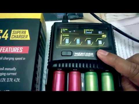Nitecore SC4 super charger