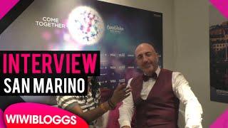 Serhat San Marino @ Eurovision 2016 - interview | wiwibloggs