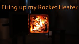 Rocket mass heater design phase mountain dream home 28 rocket stove heater parts list and build sequence part 3 firing up fandeluxe Gallery