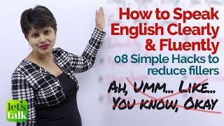 how to speak good english fluently free