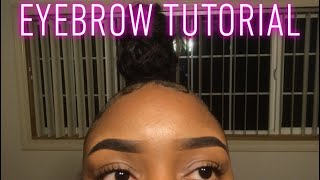 EYEBROW TUTORIAL | Anastasia Pomade Dipbrow
