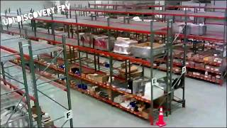 Drone Flying Through Warehouse Shelves UDI Discovery FPV January 2016