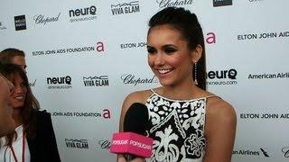 "Девушки из сериала ""Дневники Вампира"", Nina Dobrev on Her Spontaneous Oscars Move With Ian Somerhalder"