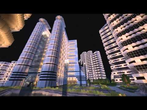 Futuristic City Area 735 Minecraft Project