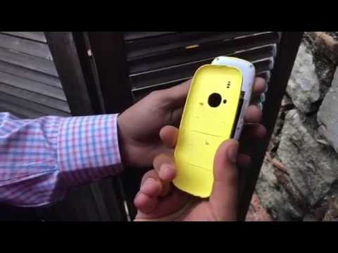 First look of Nokia 3310