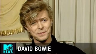David Bowie On Surrealism, Dreams & Acting | MTV Full 1987 Interview