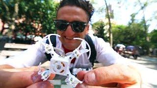 Самый маленький дрон в мире. Кейси Нейстат на русском