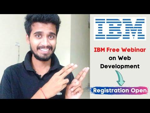 IBM Free Webinar on Web Development   How to Become a Web ...