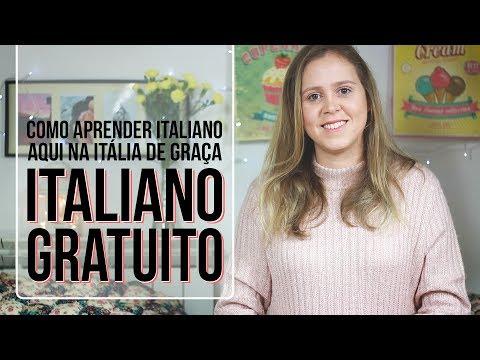 📚 Curso de Italiano GRATUITO na Itália - Aprender Italiano