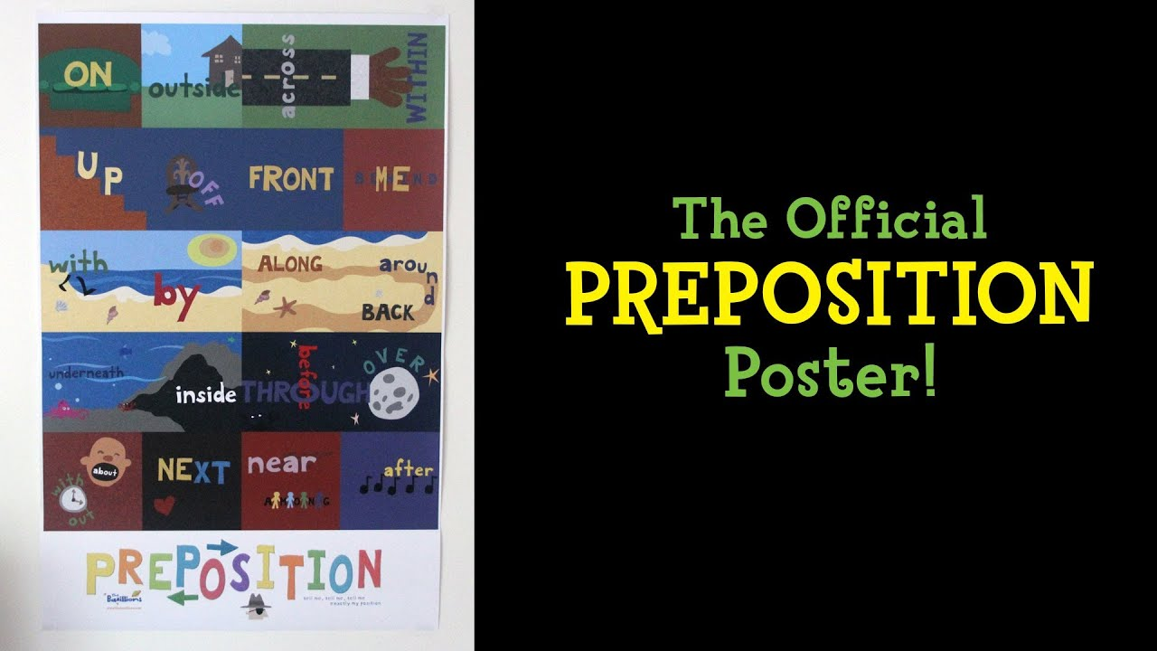 The Official PREPOSITION Poster!
