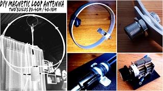 DIY QRP Magnetic Loop Ham Radio Antenna For Beginners
