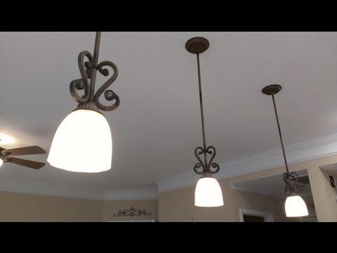 Como instalar una lampara colgante