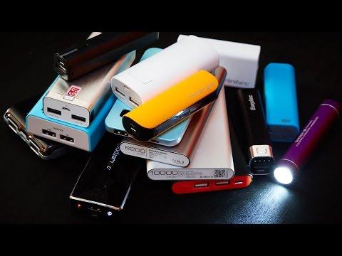 Powerbank 2014 - Zusatzakkus für Smartphones & Tablets im Test [Deutsch]