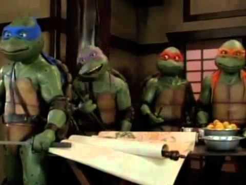 Želvy Ninja III, druhá část