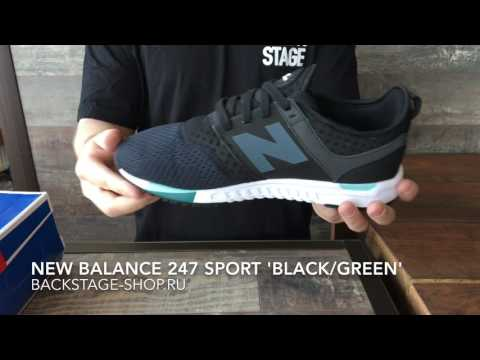 New Balance 247 Sport 'Black/Green'