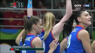 【Final】 China(中国) vs Serbia(塞尔维亚) +Awarding Ceremony【2016 Rio Olympics Women's Volleyball】