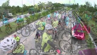 preview picture of video 'Jom Kayuh untuk Kesihatan 2015'