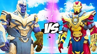 THANOS vs Iron Man - Thanos Buster