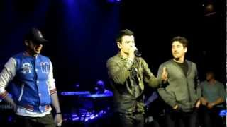 "Jordan Knight Live & Unfinished NYC ""Stingy"" & ""Right Stuff"" with Donnie Wahlberg and Jon Knight"