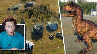 Jurassic World Evolution 2 - Sandbox Park Creation Gameplay