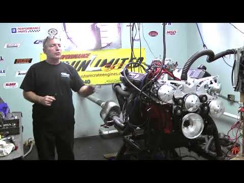 Chrysler 440 500CI Stroker Crate Engine With 525HP Dyno