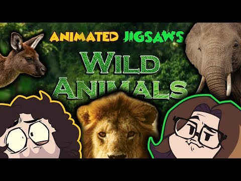 Animated Jigsaws: Wild Animals - Game Grumps