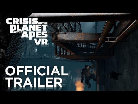 Crisis on the Planet of the Apes VR | Official Launch Trailer | FoxNext thumbnail