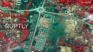 Gwinea Równikowa: Zdjęcia pokazują poziom zniszczenia po eksplozjach, które zabiły prawie 100 osób