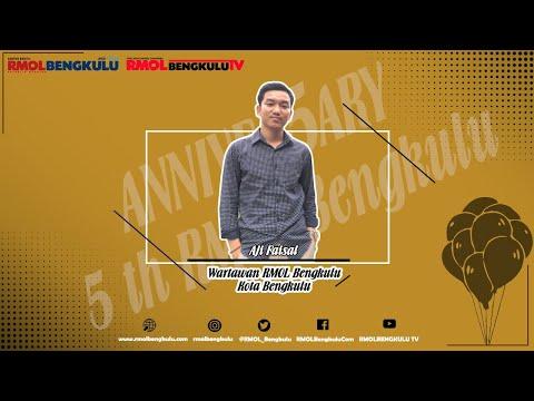 Ucapan HUT RMOLBengkulu yang Ke-5 dari Wartawan Kota Bengkulu