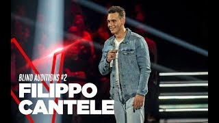 """Filippo Cantele """"Your Man""""   Blind Auditions #2   TVOI 2019"""