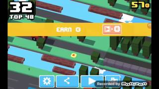 Crossy road part 1: Blow my whistle
