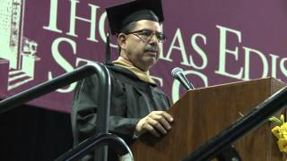 Rodolfo Rodriguez, Response for Graduates | Commencement 2015