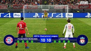 PES 2019   Bayern Munich Vs Liverpool   UEFA Champions League (UCL)   Penalty Shootout   Gameplay PC