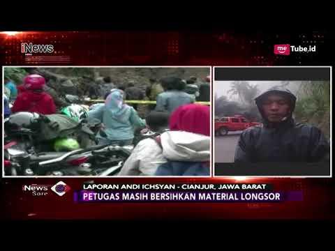 Pantauan Terkini Terkait Longsor Cianjur, Petugas Bersihkan Timbunan Tanah - iNews Sore 12/11