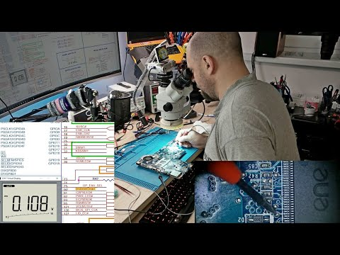 Ремонт ноутбука HP g62 на платформе quanta ax3