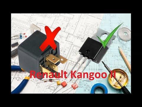 Ремонт подрулевого переключателя Renault Kangoo II