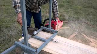home made chainsaw mill