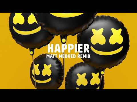 Marshmello ft. Bastille - Happier (Matt Medved Remix) (видео)