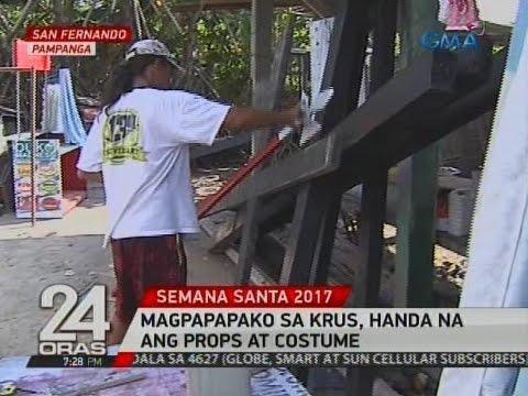 24 Oras: Magpapapako sa krus sa Cutud, handa na ang props at costume