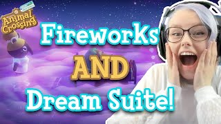 Dream Suite & CUSTOM Fireworks In Wave 2 Summer Update | Animal Crossing: New Horizons | Reaction
