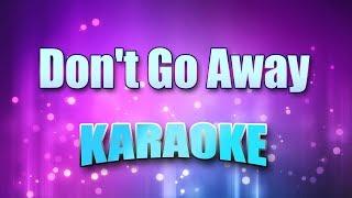 Buckcherry - Don't Go Away (Karaoke version with Lyrics)