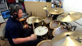 Charles and Eddie - Would I Lie to You - Drum Cover