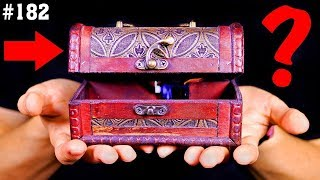 Шкатулка с секретным замком своими руками. Сможешь открыть её?