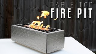 DIY of the Week: Table Top Fire Pit