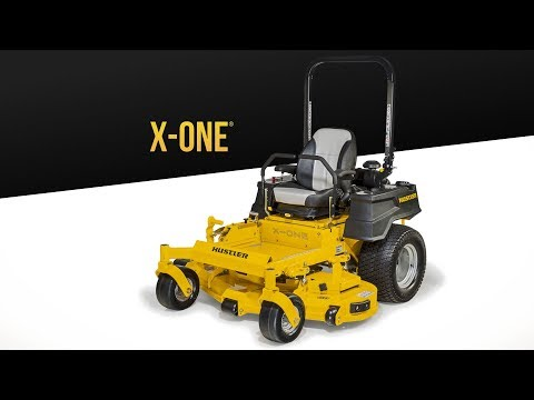 2020 Hustler Turf Equipment X-ONE 60 in. Kawasaki 27 hp in Okeechobee, Florida - Video 1