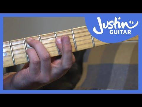 I VI II V Jazz Guitar Chords Variation Exercise - How to Play Jazz Guitar [JA-031]