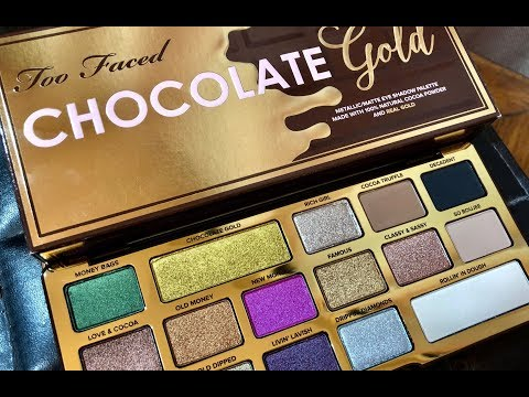 Chocolate Gold Eye Shadow Palette by Too Faced #4