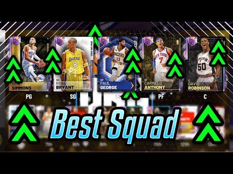 THE BEST SQUAD THAT YOU CAN BUY IN NBA 2K19 MyTEAM!!