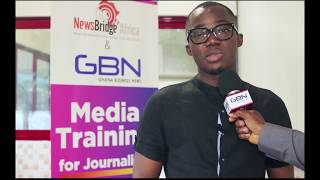 Participants share impressions on media training